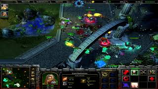 Warcraft 3 RT #042 (2v2) Human - Human vs Undead - Human [Deutsch/German] WC 3 TFT by DPoR LP