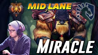 Miracle Earthshaker | MID LANE | Dota 2 Pro Gameplay