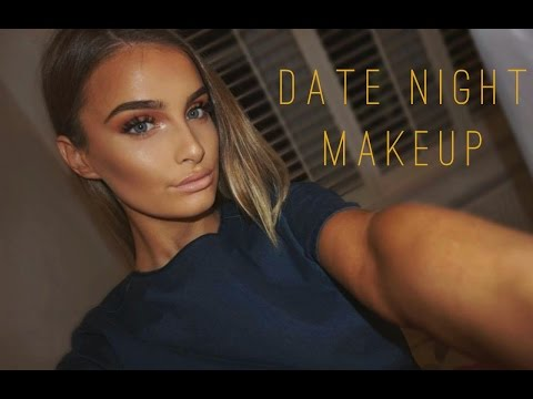 Get Ready With Me: Date Night Makeup   Rose Gold Palette    Aoife Conway