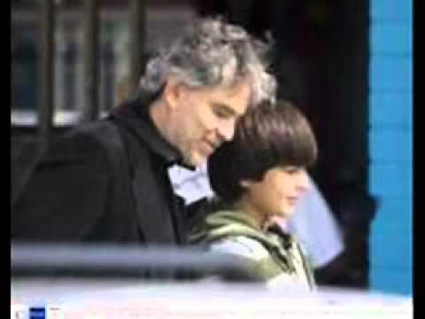Andrea Bocelli and his sons (Semplicemente)
