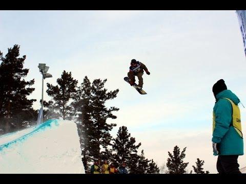 Второй этап Кубка России по сноуборду в Красноярске