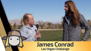James Conrad talks about his new van and how his game feels heading into the Las Vegas Challenge
