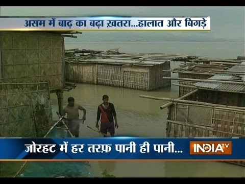 Flood condition in Assam affects more than 2 lakh people across the state