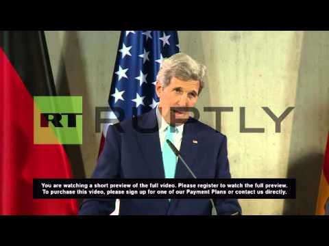 Germany: 'US want to compete together with Russia over Ukraine' - Kerry