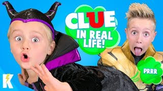 Who Tooted?! CLUE Board Game in Real Life!  Who TOOTED?! KIDCITY
