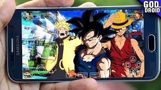 Os 30 Melhores e Mais Incríveis Jogos de ANIME para Celular Android 2018
