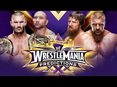Predicciones WWE WrestleMania XXX (WrestleMania 30)