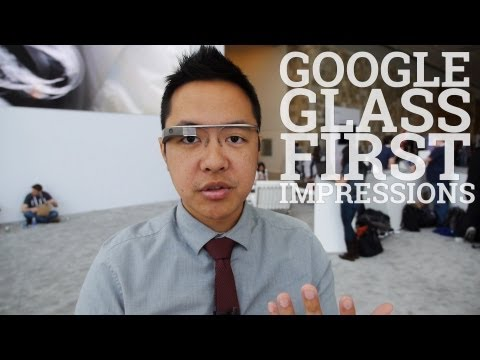 Google Glass First Impressions at I/O 2013