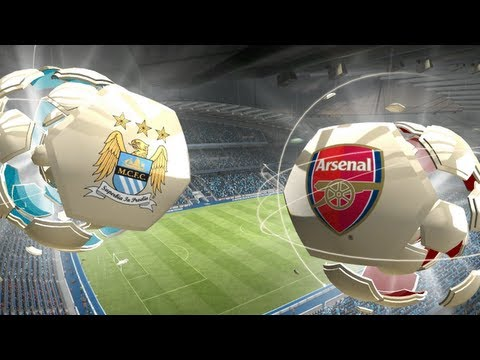 FIFA 13 - PC Gameplay HD - Manchester City vs. Arsenal London