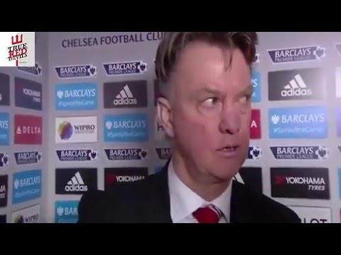 Louis Van Gaal Post Match Interview: Chelsea 1-1 Manchester United
