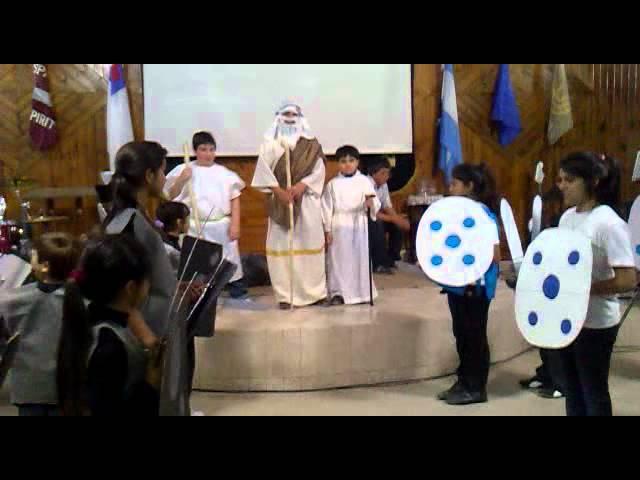 Obra de teatro cristiana  Niños