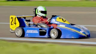 Chris Harris Lap: Division 1 Superkart | Extra Gear | BBC