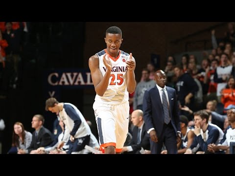 MEN'S BASKETBALL: Virginia vs. Yale Highlights