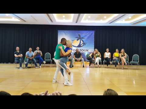 Carlos and Becky 2nd place Brazilian Zouk J&J Casa do Zouk 2017