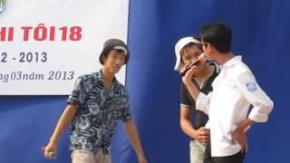Hài kịch bạo lực học đường- Khi Tôi 18 Khối 12 trường THPT Cát Hải