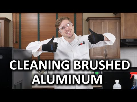 How To Clean Brushed Aluminum Products