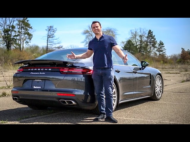 '17 Porsche Panamera Turbo Review - WAY MORE FUN Than An S-Class!!