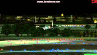 FSX Turkish Airlines Manchester Landing(ManUtd Livery)