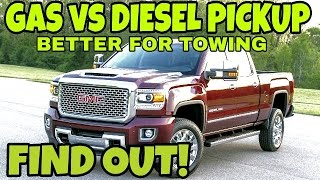 DIESEL or GAS Pickup.  Watch this first!