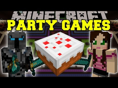Minecraft: PARTY GAMES (TONS OF FUN GAMES!) Mini-Game