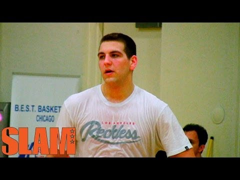 Mitch McGary 2014 NBA Draft Workout - Michigan Wolverines Basketball - 2014 NBA Draft