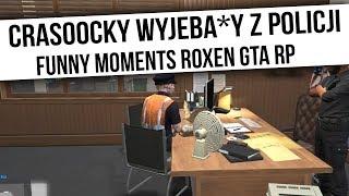 ROXEN GTA RP | CRASOOCKY WYJEBA*Y Z POLICJI | Funny Moments  from Fumfeel Shoty
