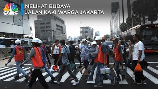 Melihat Budaya Jalan Kaki Warga Jakarta