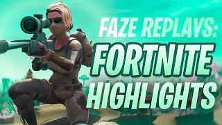 FaZe Replays: Fortnite Highlights