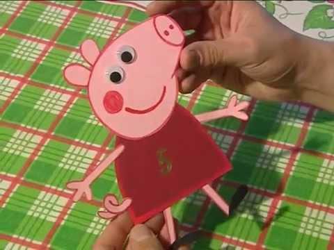 Свинка пеппа своими руками видео