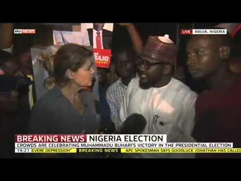 Nigeria Celebrates Muhammadu Buhari Election Victory Over Goodluck Jonathan