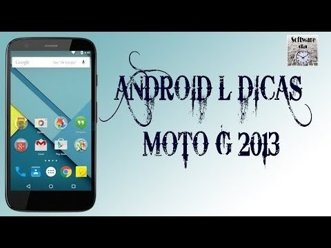 Rastrear o Celular - Dicas do Android L para Moto G #3