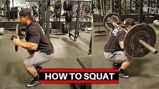 HOW TO SQUAT: PITBULL TORRES TUTORIAL