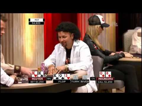 Daniel Negreanu vs Scotty Nguyen @ National Heads-Up 2009 HD Video