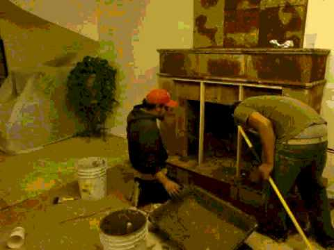 Chimeneas baja 4 de cantera color chocolate youtube - Madera para chimenea ...