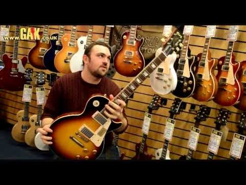 Gibson - 2013 Custom Shop 1958 Les Paul Plaintop VOS Demo at GAK