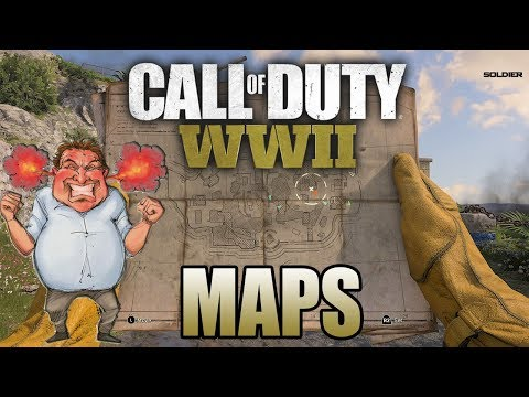 Call of Duty WW2 Maps Are So Bad   COD WW2 Gameplay PPSH Kill Confirm