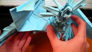 Origami Ancient Dragon And Origami Phoenix 3.5 (not A Tutorial) (reuploaded)