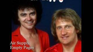 Watch Air Supply Empty Pages video