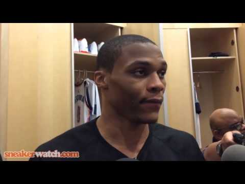Russell Westbrook Talks Team Picking Up Slack Without Durant