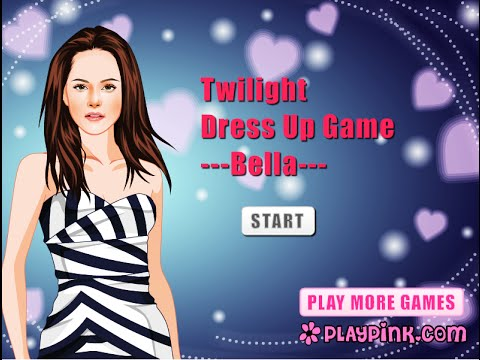 Bella Games Twilight Twilight Dress up Game Bella