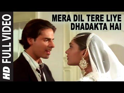 Mera Dil Tere Liye Dhadakta Hai Full Song | Aashiqui | Rahul...