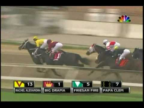 2009 Preakness - Rachel Alexandra beats Mine That Bird