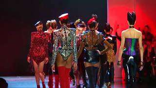 The Blonds and Daphne Guinness at NYFW2018