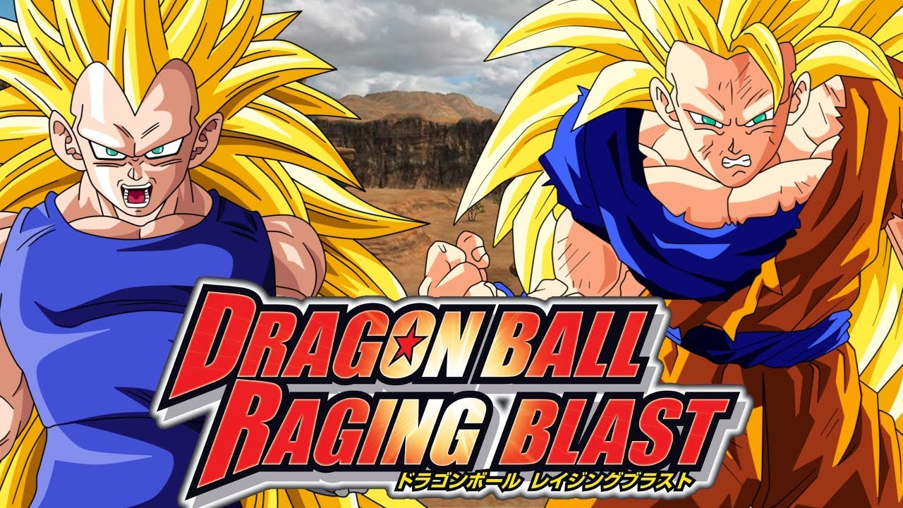 Dragon Ball Raging Blast - Super Saiyan 3 Vegeta vs Super ...