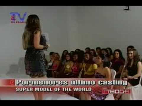 Pormenores último casting Super Model of the World