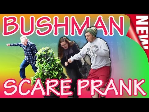 MAY 4th BUSHMAN SCARE PRANK!   Funny Video #331   Eugene Oregon   Ryan Lewis Videos