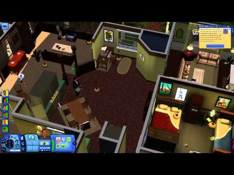 Malcolm's house The Sims 3 HD 1080p PC Max setting