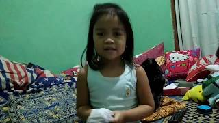 Cover Song Shark Family by Christa - Nyanyi Lagu Shark Family