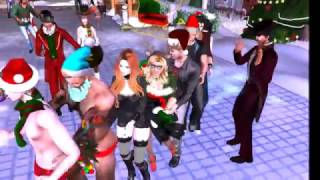 Happy Christmas from London in Second Life (London City)