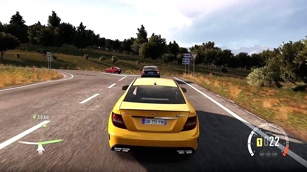 Forza Horizon 2 Mercedes Benz C63 Amg Black Series